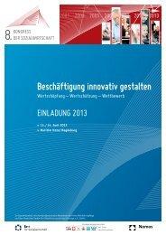 Beschäftigung innovativ gestalten - CURACON GmbH ...