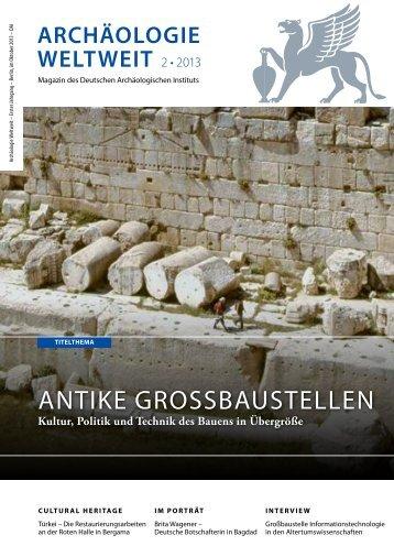 PDF der deutschen Version - Deutsches Archäologisches Institut