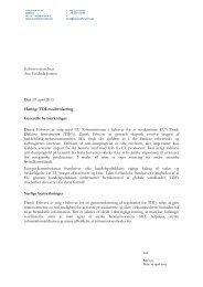 TDI-Modernisering - Dansk Erhverv
