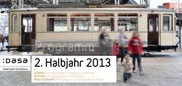 Programm 2. Halbjahr 2013 - DASA
