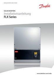 Installationsanleitung FLX Series - Danfoss