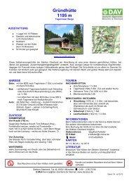 Checkliste zum Download - München und Oberland