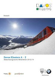 Davos Klosters A – Z