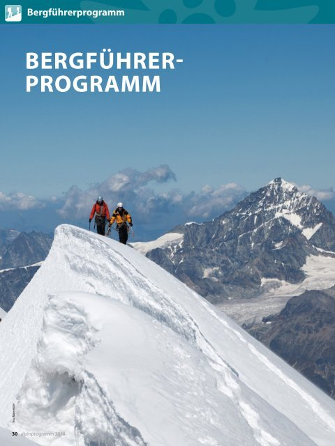 Bergführerprogramm - München und Oberland