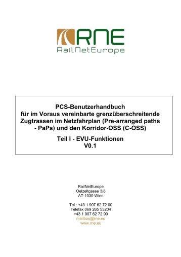 PCS PaP Handbuch - DB Netz AG