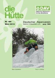 Die Hütte 159 - Sektion Hildesheim