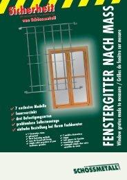 Fenstergitter Prospekt - Decke-wand-boden.de