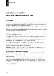 publizieren bei de gruyter: richtlinien zur ... - Walter de Gruyter