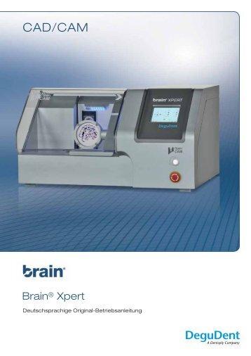Gebrauchsanweisung Brain Xpert - DeguDent GmbH