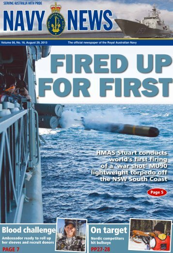 Edition 5616, August 29, 2013 - Department of Defence