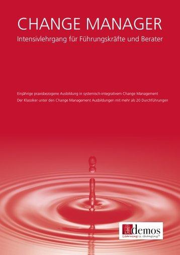Change Manager - Demos GmbH