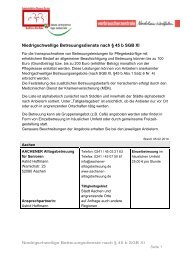 Liste für die StädteRegion Aachen - Demenz-Servicezentrum Regio ...