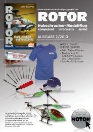 Testbericht ROTOR Ausgabe 02/2013 - Modellsport Schweighofer