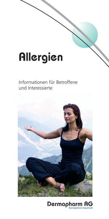 Allergien - Informationen für Betroffene und ... - Dermapharm