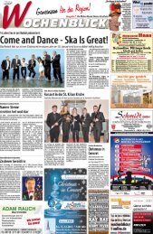 (ome and Dance - Ska Is Great! - Wochenblick