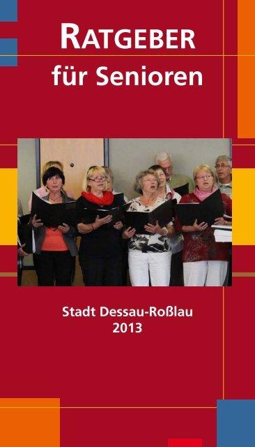 Ratgeber für Senioren 2013 - Dessau-Roßlau