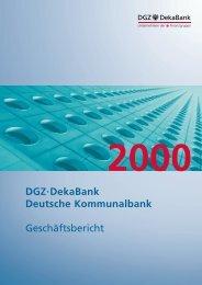 Dgz·dekabank Deutsche Kommunalbank