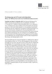 Pressemeldung als PDF [27KB] - Deutsche Beteiligungs AG