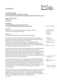 Pressemitteilung Filmreihe Filmspotting: - Deutsche Kinemathek