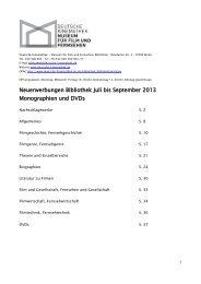 Juli/September 2013 (pdf) - Deutsche Kinemathek