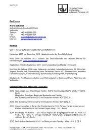 Vita - Deutscher Verein