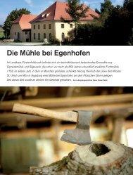 Die Mühle bei Egenhofen - Deutsches Museum