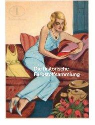 Die historische Farbstoffsammlung - Deutsches Museum