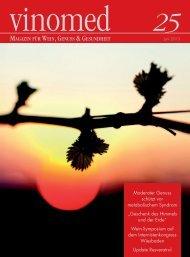 Vinomed Ausgabe 25, 2013 - Deutsches Weininstitut