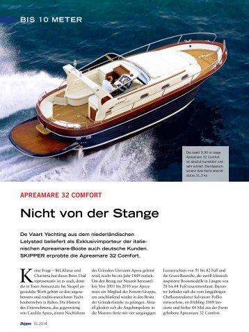 Nicht von der Stange - De Vaart Yachting