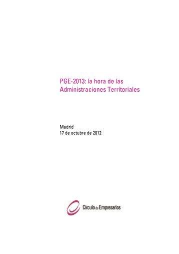pge-2013 la hora de las administraciones territoriales 0