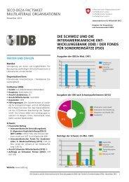 iDb - Deza - admin.ch