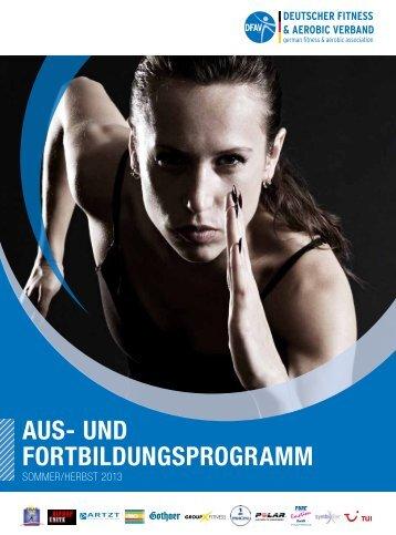 Aus- und FortbildungsprogrAmm - Deutscher Fitness und Aerobic ...