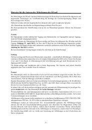 -1- Hinweise für die Autoren der Mitteilungen der DGaaE