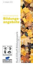 Bildungs angebote - DGB-Bildungswerk NRW e.V.