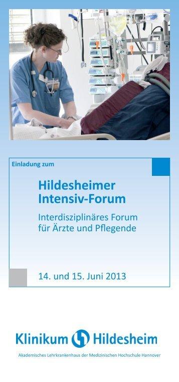 Hildesheimer Intensiv-Forum - DGAV
