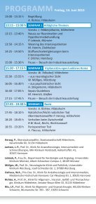 Hildesheimer Intensiv-Forum - DGAV - Page 3