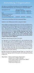 Hildesheimer Intensiv-Forum - DGAV - Page 5