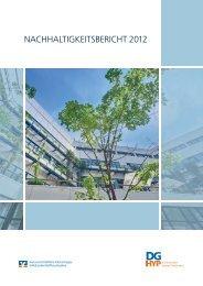 Nachhaltigkeitsbericht 2012 - DG Hyp