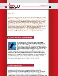 Newsletter 1/2013 - DGB Bildungswerk Bayern