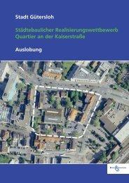 Stadt Gütersloh Städtebaulicher Realisierungswettbewerb Quartier ...