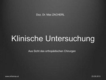 Klinische Untersuchung - Diagnostikum - Graz