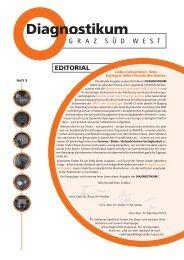 EDITORIAL - Diagnostikums Graz Süd West
