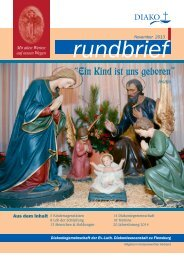 Rundbrief Nr. 8 - DIAKO Flensburg