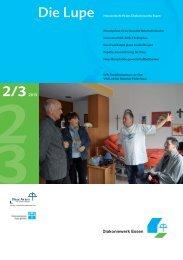 Lupe 2/3 2013 Die Hauszeitschrift als PDF - Diakoniewerk Essen