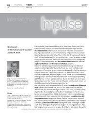 Internationale Impulse - Deutsches Institut für Erwachsenenbildung