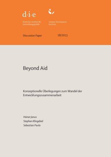 DP 18.2013.pdf - Deutsches Institut für Entwicklungspolitik