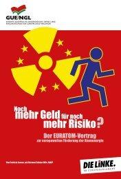 mehr Risiko mehr Geldfür noch - DIE LINKE. Landesverband Hamburg