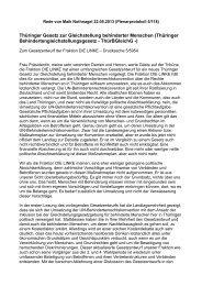 Thüringer Gesetz zur Gleichstellung behinderter Menschen ...
