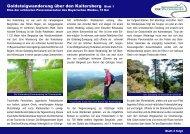 Goldsteigwanderung über den Kaitersberg - Die Watzmänner aus ...
