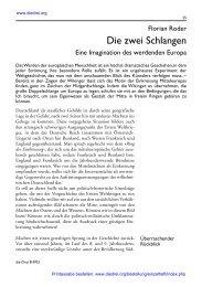 06 Roder-Mitteleuropa - Die Drei